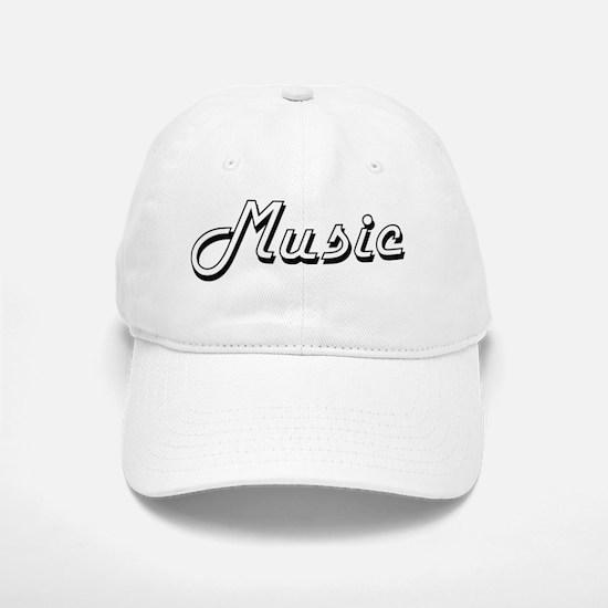 Music Classic Retro Design Baseball Baseball Cap