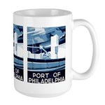 Port Of Philadelphia Large Mug