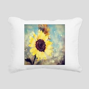 romantic summer watercol Rectangular Canvas Pillow