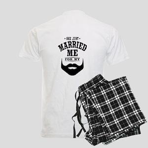 Married Beard Men's Light Pajamas