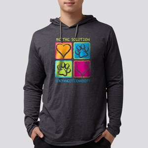 Be The Solution Squares Long Sleeve T-Shirt