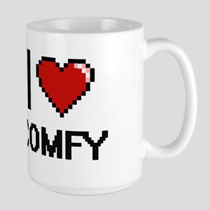 I love Comfy Digitial Design Mugs