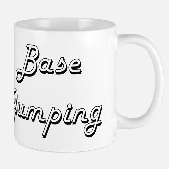 Base Jumping Classic Retro Design Mug