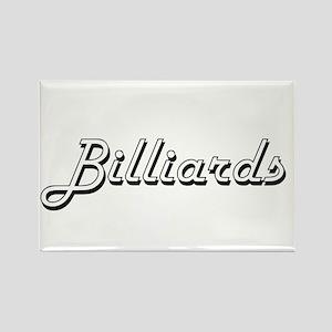 Billiards Classic Retro Design Magnets