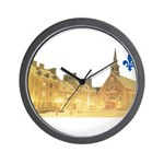 Inside Old Quebec with Lys Wall Clock