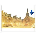 Inside Old Quebec with Lys Small Poster