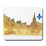 Inside Old Quebec with Lys Mousepad