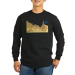 Inside Old Quebec with Lys Long Sleeve Dark T-Shir