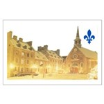 Inside Old Quebec with Lys Large Poster