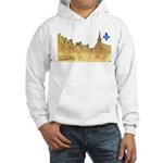 Inside Old Quebec with Lys Hooded Sweatshirt