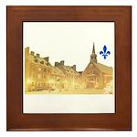 Inside Old Quebec with Lys Framed Tile