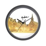 Inside Old Quebec with Signat Wall Clock