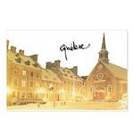 Inside Old Quebec with Signat Postcards (Package o