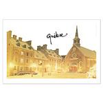 Inside Old Quebec with Signat Large Poster