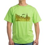 Inside Old Quebec with Signat Green T-Shirt
