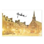 Inside Old Quebec Turned Sign Postcards (Package o