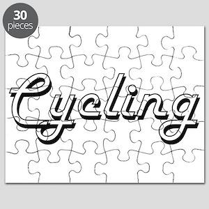 Cycling Classic Retro Design Puzzle
