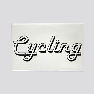 Cycling Classic Retro Design Magnets