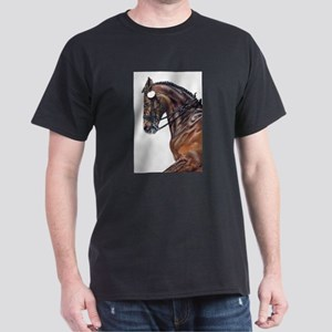 Dressage Horse Ash Grey T-Shirt