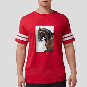 Dressage Horse Ash Grey T-Shirt