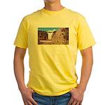 Montmorency Falls Quebec City Yellow T-Shirt
