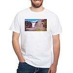 Montmorency Falls Quebec City White T-Shirt