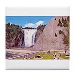 Montmorency Falls Quebec City Tile Coaster