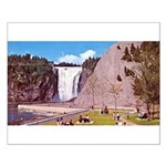 Montmorency Falls Quebec City Small Poster