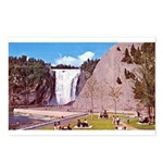 Montmorency Falls Quebec City Postcards (Package o