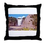 Montmorency Falls Quebec City Throw Pillow