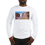Montmorency Falls Quebec City Long Sleeve T-Shirt