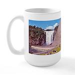 Montmorency Falls Quebec City Large Mug