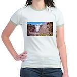 Montmorency Falls Quebec City Jr. Ringer T-Shirt