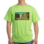 Montmorency Falls Quebec City Green T-Shirt
