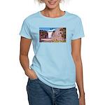 Montmorency Falls Quebec Sign Women's Light T-Shir