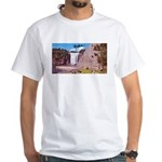 Montmorency Falls Quebec Sign White T-Shirt