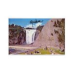Montmorency Falls Quebec Sign Rectangle Magnet (10