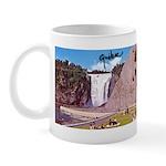 Montmorency Falls Quebec Sign Mug