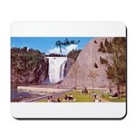 Montmorency Falls Quebec Sign Mousepad