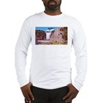 Montmorency Falls Quebec Sign Long Sleeve T-Shirt