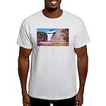 Montmorency Falls Quebec Sign Light T-Shirt
