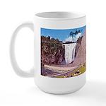 Montmorency Falls Quebec Sign Large Mug