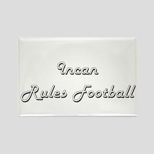 Incan Rules Football Classic Retro Design Magnets