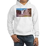 Montmorency Falls Quebec Sign Hooded Sweatshirt