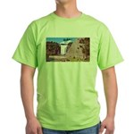 Montmorency Falls Quebec Sign Green T-Shirt