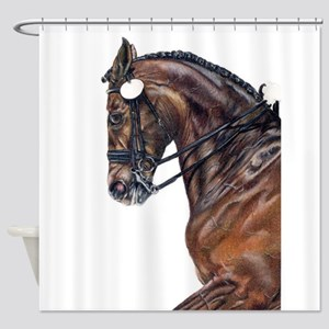 Dressage Shower Curtain