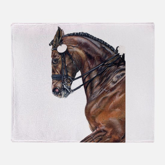 Dressage Throw Blanket
