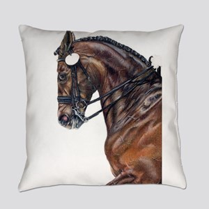 Dressage Everyday Pillow