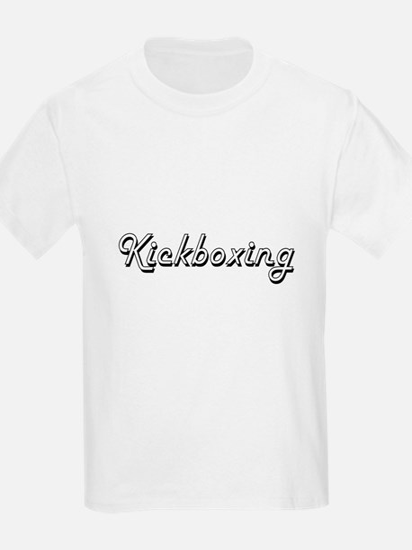 Kickboxing Classic Retro Design T-Shirt