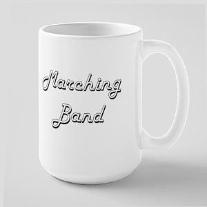 Marching Band Classic Retro Design Mugs